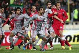 لخویا قطر 3 - 0 پرسپولیس ایران؛ صعود پرسپولیس به خطر افتاد