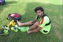 رضاییان: مردم فوتبالدوست ایران گُل هستند