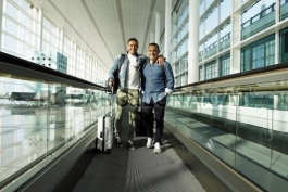 گزارش تصویری: سفر تیم بارسلونا به شهر مونشن گلادباخ