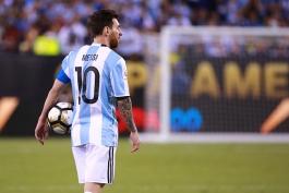 گزارش تصویری: آرژانتین (2)0 - (4)0 شیلی؛ لیونل مسی در قاب تصویر
