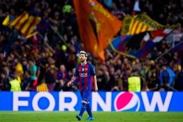 گزارش تصویری؛ بارسلونا 4 - 0 منچسترسیتی؛ فوتبال به سبک مسی
