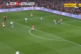 گل های HD بازی منچستریونایتد 4-0 ردینگ - وین رونی - آنتونی مارسیال