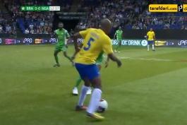 گل های بازی اسطوره های برزیل 3-0 اسطوره های نیجریه - Star Sixes