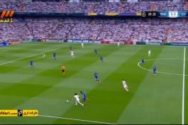 خلاصه بازی رئال مادرید 1-1 یوونتوس