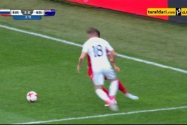 خلاصه بازی روسیه 2-0 نیوزلند