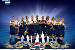 تبلیغ پپسی با حضور ستارگان فوتبال 2006
