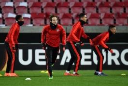 گزارش تصویری؛ تمرینات منچستریونایتد در دانمارک با غیبت رونی و حضور انبوه بازیکنان آکادمی باشگاه