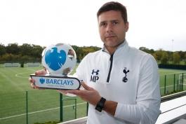 انتخاب پوچتینو به عنوان بهترین سرمربی ماه لیگ برتر