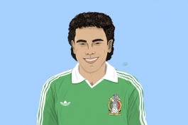 مکزیک - اسطوره های فوتبال - بهترین گلزنان رئال مادرید - اسطوره رئال مادرید