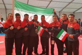کاراته قهرمانی جهان-اتریش؛ ایران در مکان سوم جدول توزیع مدال ها