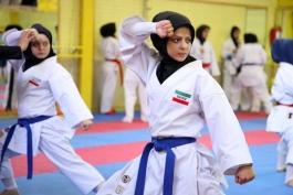ملیپوش کاراته بانوان: حضور در مسابقات آسیایی پا گذاشتن به دهان شیر است