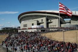 لیگ اسپانیا-ورزشگاه جدید اتلتیکو مادرید-لالیگا-