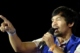 بوکس؛ مانی پاکیائو به مجلس سنا فیلیپین راه پیدا کرد