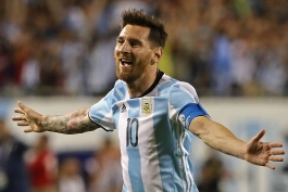 تیم ملی آرژانتین- lionel messi