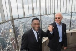 تجدید دیدار پله و بکن بائر در نیویورک