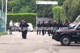 حضور پلیس در تمرین سمپدوریا پس از شکست در دربیِ جنوا(عکس)