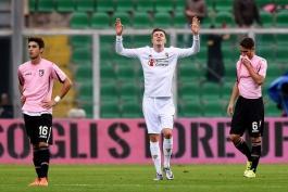 فیورنتینا ۳ - ۱ پالرمو؛ صدر جدول دوباره بنفش شد!