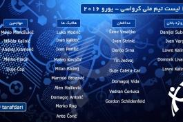 لیست اولیه تیم ملی کرواسی برای یورو ۲۰۱۶؛ خط هافبکِ کهکشانی