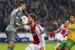 آژاکس 1 - 0 سلتیک؛ امید هلندی ها به آینده