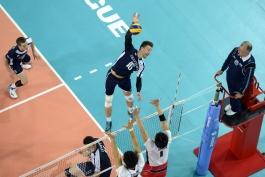 لیگ جهانی والیبال: فرانسه 3 - 0 ژاپن؛ فرانسوی ها صعود به مرحله نهایی را هدف گرفته اند