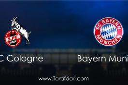 FC Cologne vs Bayern Munich-هفته بیست و سوم-بوندسلیگا