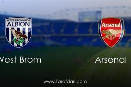 West Bromwich Albion vs Arsenal-هفته بیست ونهم-لیگ برتر انگلیس