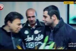 ویدیو؛ مراسم آشتی کنان علی ضیا و پرویز مظلومی