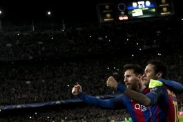 گزارش تصویری - بارسلونا 6-1 پاری سن ژرمن