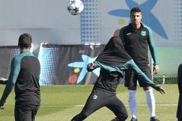 گزارش تصویری - آخرین تمرین بارسلونا - پاری سن ژرمن