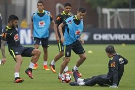 گزارش تصویری؛ آخرین جلسه تمرینی تیم ملی برزیل