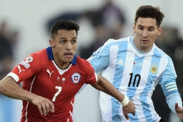 ترکیب رسمی - آرژانتین - شیلی - مقدماتی جام جهانی در آمریکای جنوبی