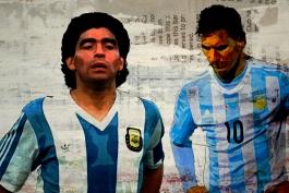 چرا لیونل مسی باید دیگو مارادونا و بیانیه هایش را برای موفقیت آرژانتین نادیده بگیرد؟
