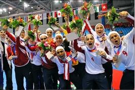 شیخ سلمان  قهرمانی  تیم ملی فوتسال زنان ایران را تبزیک گفت