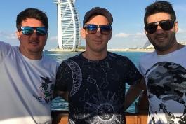 لیونل مسی در سواحل خلیج همیشه فارس