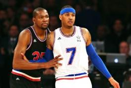 بسکتبال NBA؛ صحبت های آنتونی با دورانت؛ فوق ستاره تاندر راهی نیویورک می شود؟