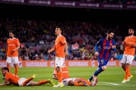 لالیگا فصل 17-2016 - بارسلونا - اوساسونا