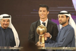 مراسم Globe Soccer Awards 2014