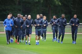 گزارش تصویری؛ اولین جلسه تمرینی تیم ملی فرانسه و حواشی آن