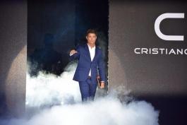گزارش تصویری؛ حضور کریستیانو رونالدو برای یک مراسم تبلیغاتی در ژاپن