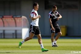 گزارش تصویری: تمرینات امروز رئال مادرید در حضور کریستیانو رونالدو (3 اکتبر)