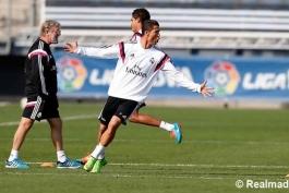 گزارش تصویری: بازگشت رونالدو و بیل به تمرینات گروهی امروز رئال مادرید (4 اکتبر)