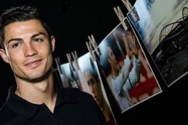 گزارش تصویری وبسایت UEFA به مناسبت صد میلیونی شدن فیسبوک کریستیانو رونالدو