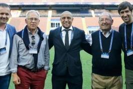 حضور رائول، کارلوس، میاتوویچ، خنتو و آمانسیو در سن سیرو (عکس)