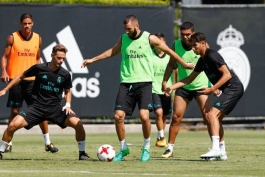 جلسه تمرینی رئال مادرید