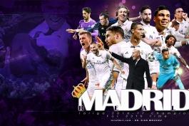 رئال مادرید - لالیگا - پوستر