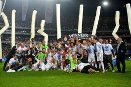 در مراسم امشب قرعه کشی لیگ قهرمانان اروپا، از رئال مادرید تجلیل خواهد شد