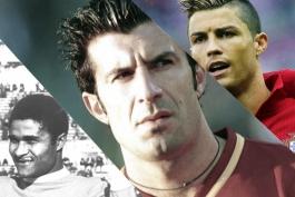 به مناسبت صدمین سالگرد تاسیس فدراسیون فوتبال پرتغال؛ از اوزه بیو تا فیگو و کریستیانو رونالدو