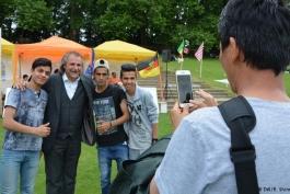 گزارش تصویری؛ دهمین جشنواره بزرگ افغان های مقیم اروپا در شهر کلن