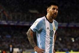 آرژانتین - مقدماتی جام جهانی روسیه - کاپیتان آرژانتین - شیلی