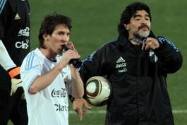 اسطوره آرژانتین - مهاجم آرژانتینی بارسلونا - آرژانتین
